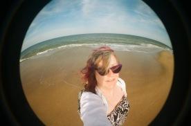 Delaware Seashore State Park Selfie