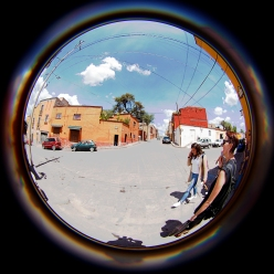 fisheye street with jodi