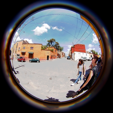 fisheye street with jodi