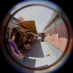 fisheye susan in the mercado