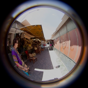 fisheye susan in the mercado