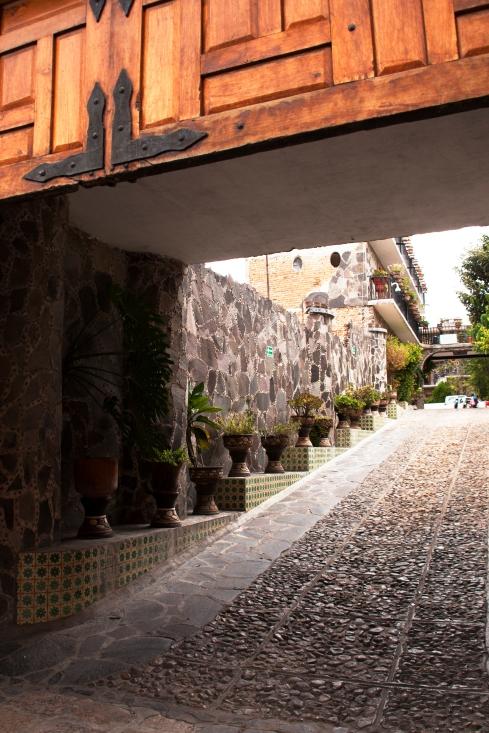 hotel entryway
