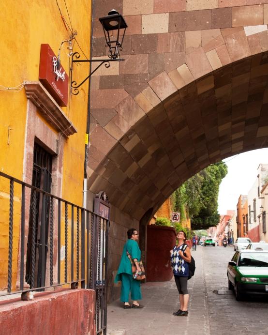 susan and jodi and arched bridge 2