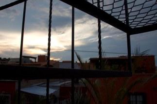 evening wrought iron
