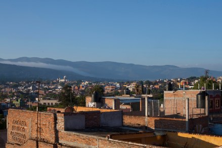 last morning airbnb terrace view 2