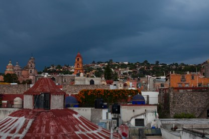 more red roof and thunderstorm