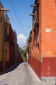 perfect orange alley