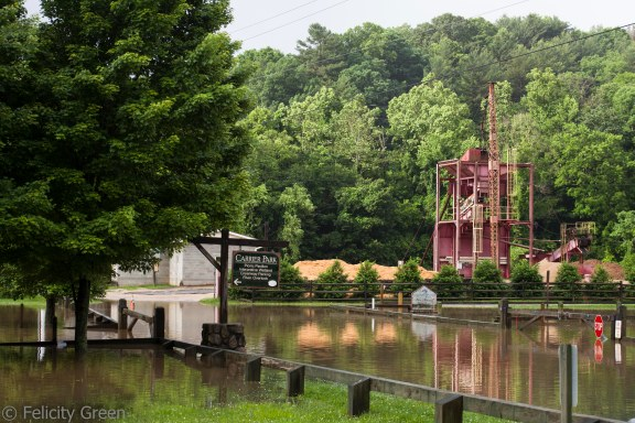 more beautiful flooding at carrier park