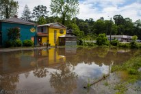 "Cascade Lounge and Homegrown on Amboy Rd & their ""parking lot"" they're closed today"