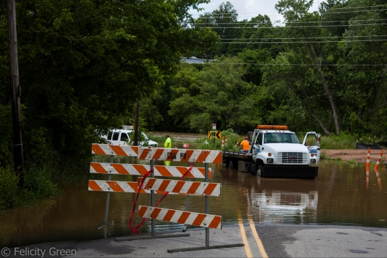 Lyman St. most thoroughly closed