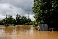 corner of swannanoa river road and caledonia road by the antique tobacco barn